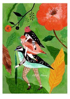ilustración de Chichi Huang