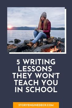 5 Writing Lessons They Won't Teach You in School | Get the writing tips that I wish every student got to learn in the classroom. Writing Prompts For Writers, Writing Assignments, Writing Lessons, Writing Workshop, Writing Advice, Grammar Help, My High School, Life Happens, Best Teacher