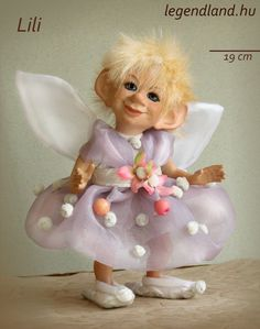 Lili fairy art doll - poseable art doll by LegendLand