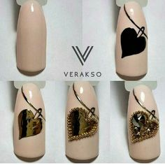 Шикарное сердце от @verakso_nail #ногти#маникюр#идеиманикюра#дизайнногтей#шеллак#гельлак#ногтевойсервис#самыелучшие#лучшиемастера#лучшиеидеи#толькоунас#nail#nails#shellac #gellac #naildesign #nailswag#nailart#nailsoftheday#beauty#manicure#designnails#look#ideim by ideim