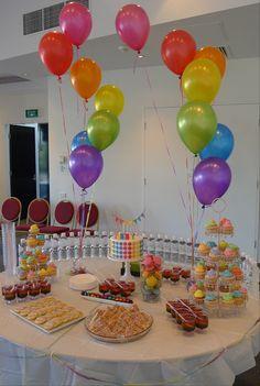 Photo 1 Of 5 Rainbow Disco Birthday Abbys Party