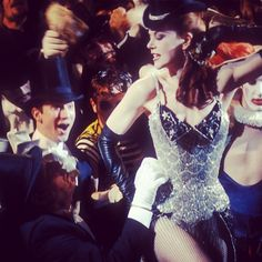 Moulin Rouge: The iconic Satine Costume in the film's most famous scene #ThrowbackThursday #Padgram