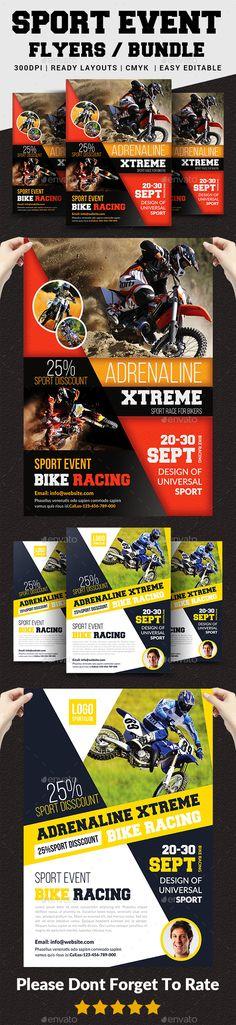 #Sport Event #Flyer / Poster Bundle - Sports Events
