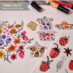 Art and Illustration by Tara Lilly Studio