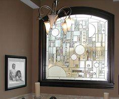 Stained glass window from Studio Glassworks
