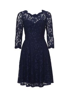 Review Australia | Melissa Lace Dress in Navy | Shop Dresses Online from Review