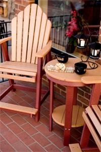 Amish Outdoor Furniture Polywood Bistro Table