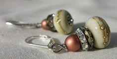 Picture jasper necklace earrings bracelet brown cream biege | Jewellery | Popular Crafts | Craft Juice