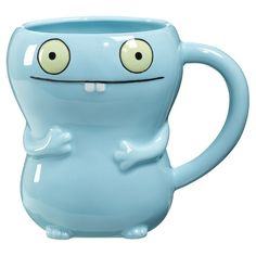 """They may be """"ugly"""", but the characters from Uglydoll are simply irresistible in their adorably eccentric appeal. These quirky critters hold your tea, coffee ..."""