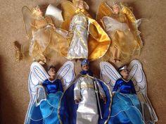angel star dolls set of 6 rare 10+4.3