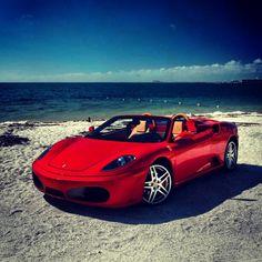 Bring on the Summer! Ferrari F430 Spider Beachtime