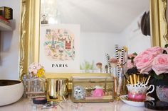 SS Print Shop's Stephanie Sterjovski at Home #theeverygirl