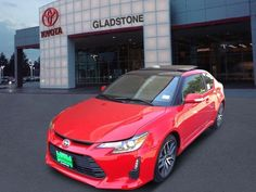 2014 Scion tC Base 2dr Coupe 6A Coupe 2 Doors Red for sale in Gladstone, OR Source: http://www.usedcarsgroup.com/used-scion-for-sale-in-gladstone-or