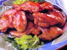 Quick and Easy Chicken Meal - Marinated Grilled Chicken Wings Marinated Chicken Wings, Easy Chicken Recipes, Chicken Meals, Tandoori Chicken, Meat, Ethnic Recipes, Food, Essen, Meals