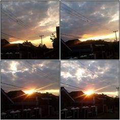 WIM Enjoyed and Liked on instagram from cubus_photography: Detik Detik kemunculan Gerhana Matahari dipagi hari ini di kota Lampung..(allahuakbar) by cubus_photography