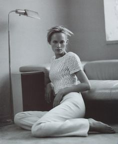 Amber Valletta | Photography by Steven Meisel | For Vogue Magazine Italy | March 1996