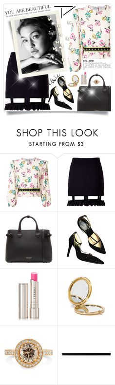 """""""Untitled #640"""" by beautifulplace ❤ liked on Polyvore featuring RED Valentino, Acephala, Burberry, By Terry, Odeme and Merola"""