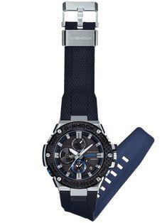 G-SHOCK G-STEEL GSTB100XA-1A Men's Watch Black G Shock Watches, Watches For Men, Pioneer Decks, Watches Online, Digital Watch, Casio, Steel, Shopping, Accessories