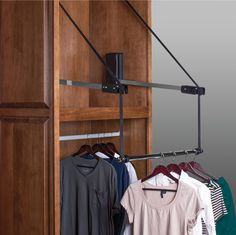 Closet Rod Pull Down 26 Lbs Weight Capacity By Hafele | Pinterest | Closet  Rod And Products