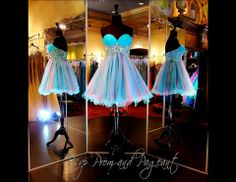 100MM0144970299-TEAL... Adorable!!! Perfect for Sweet Sixteen, Homecoming or to attend a wedding... ONLY at Rsvp Prom and Pageant... http://rsvppromandpageant.net/collections/short-dresses/products/100mm0144970299-teal