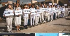 "67 ""Women in White"" Expose Abortion Dangers at America's Worst Planned Parenthood"