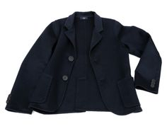 Jacket in 100% Double Cashmere for Kids and Men - completely handsewn by Neri Firenze