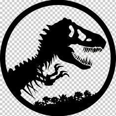 Tyrannosaurus Jurassic Park Velociraptor Dinosaur PNG - black and white, clip art, colin trevorrow, dinosaur, fictional character Jurassic World, Jurassic Park Tattoo, Diy Vinyl Projects, Jurrassic Park, Velociraptor Dinosaur, Dinosaur Tattoos, Dinosaur Images, Pumpkin Carving Templates, Tyrannosaurus