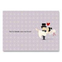 Cartão Casamento Essencial Casal Noivos