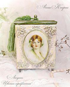 Caja de joyería de madera caja de joyería por AnnaBoutiqueStore