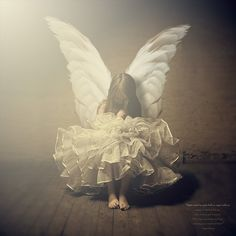 """Angels are watching over you when times are good or stressed.Their wings wrap gently around you, whispering you are loved and blessed."""""""