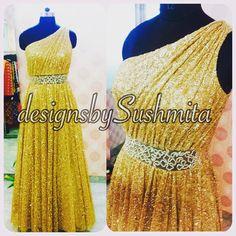 All that glitters is worth more than gold ..! The beautiful one off-shoulder drape gown .., chic , isnt'it..? Dm for enquiries..! #couture #indiancouture #indianfashion #uk #usa #uae #melbourne #sydney #australia #canada #vancouver #brampton #edmonton #punjabi #ukpunjabi #punjabidesigner #desicouture #desifashion #punjabiswag #punjabikudi #pret #prom #gown #simicouturepret #designsbysushmita