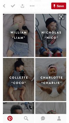 Trendy Baby Names With Nicknames Boys - Baby Boy Names Baby Girl Names Cool Baby Girl Names, Unique Girl Names, Names Baby, Baby Names For Boys, Baby Boy Names Strong, Sweet Baby Names, Twin Names, Children Names, Names Girl