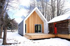 Coolest Cabins: Warburg House, Canada