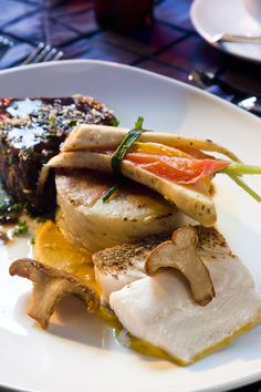 Braised Short Rib and Sablefish #culinarycapers #food #catering http://www.culinarycapers.com/ Photo: John C. Watson