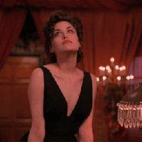 Mademoiselle Robot: Becoming. Audrey Horne from Twin Peaks Twin Peaks Fashion, Twin Peaks Characters, Twin Peaks Tv, Log Lady, Sherilyn Fenn, Audrey Horne, David Lynch Twin Peaks, Laura Palmer, Red Aesthetic