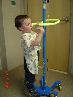 Sean Hanson was diagnosed with neuroblastoma in September, 2003, mom Ellen Hanson writes us.