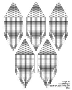 Full Page Graph Paper | If you'd like more information on Brick Stitch Earrings, check out my ...