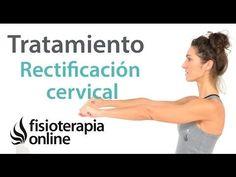 Como corregir la rectificación cervical con ejercicios, auto-masajes y estiramientos.   Fisioterapia Online