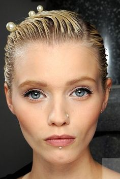 Spring Summer 2012 beauty make up trends - Chanel
