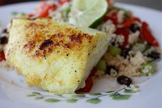 Red Snapper with Confetti Couscous
