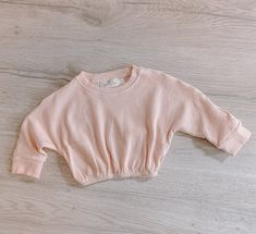 Girl Hair Bows, Basic Outfits, Powder Pink, Cuff Sleeves, Trendy Fashion, Pullover Sweaters, June, Swimsuits, Long Sleeve