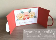 Paper Daisy Crafting: Pansy Petals Circle Opening Card - Video Tutorial Paper Daisy, Fancy Fold Cards, Thank You Gifts, Pansies, Stampin Up Cards, I Card, Banner, Crafty, Blog
