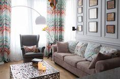 Fiatal lány 43m2-es másfél szobás lakása (+ kutya, cica) otthonosan berendezve - kellemes színek, besétálós gardrób