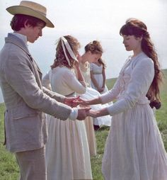 Tess of the d'Urbervilles. This is probably the saddest movie I think I have ever seen. Titanic is nothing compared to this movie. But still, it does have happy elements in it which I like.