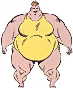 Big Bertha of the Great Lakes Avengers (Marvel Comics) from the master edition handbook Iconic Characters, Comic Book Characters, Disney Characters, Young Avengers, New Avengers, Comic Book Superheroes, Marvel Comic Books, Marvel Comics, Secret Avengers