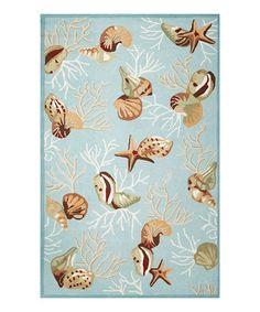 This Blue Coral Reef Sonesta Rug is perfect! #zulilyfinds