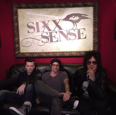 """Radio day from the studio. Sixx Am, Love Of My Life, My Love, Nikki Sixx, Music Love, Rock Bands, Dj, Frame, Guitar"