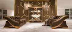 Luxury Sofa, Luxury Living, Living Room Sectional, Living Room Furniture, Sofa Design, Interior Design, Metal Sofa, Casual Living Rooms, Royal Furniture