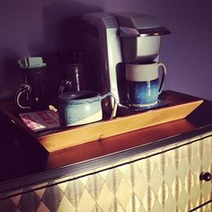 Coffee bar in master bedroom #lakelife | Flickr - Photo Sharing!