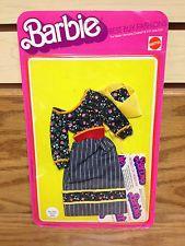 Floral Pattern 1975 Mattel Marie Osmond BARBIE Best Buy Fashions #2561 UNPUNCHED